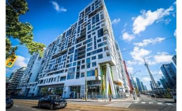 576 Front Street West, Toronto, 1 Bedroom Bedrooms, ,1 BathroomBathrooms,Condominium,For Rent,Minto Westside Condos,Front Street West,6,1190